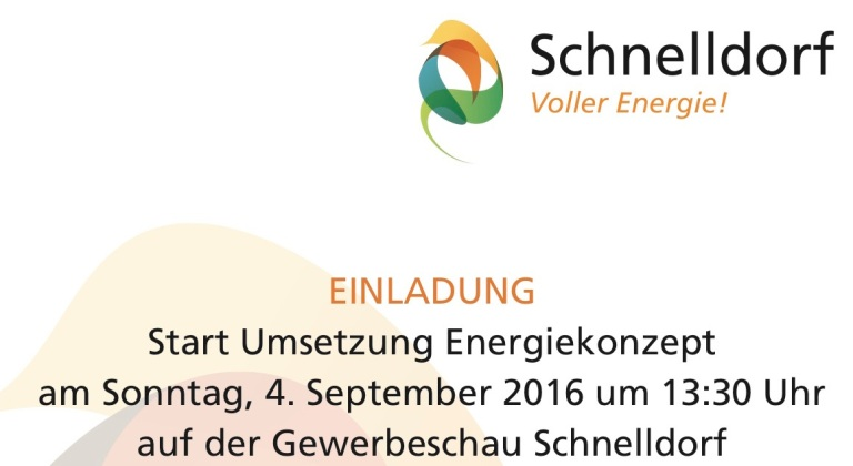 Einladung Schnelldorf Bild
