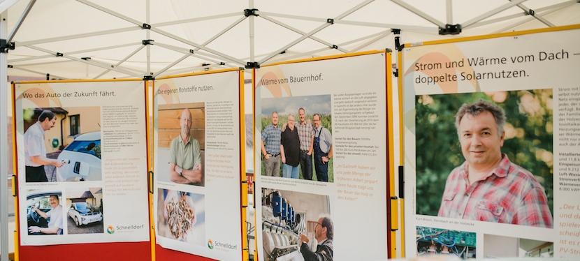 """Mit Aha-Effekten das Energiebewusstsein fördern – Zukunftsprojekt """"Schnelldorf voller Energie"""" auf der Gewerbeschau am 4. September erfolgreichgestartet"""