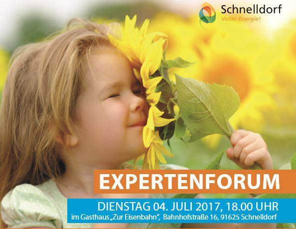 Expertenforum am Di4.7.2017